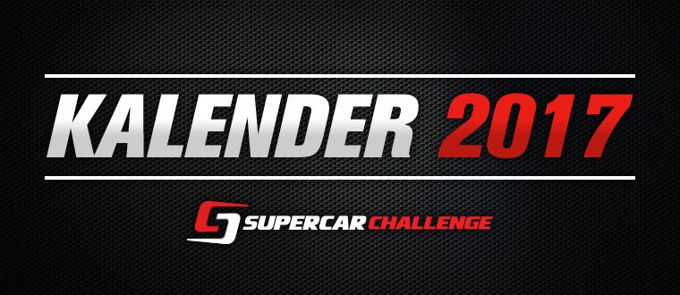 De Supercar Challenge kalender 2017