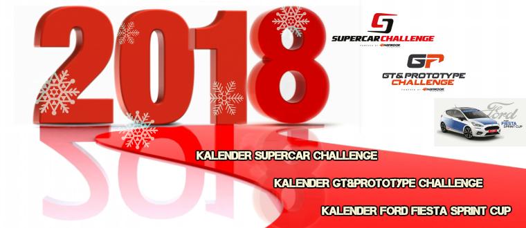 Presentatie kalenders Supercar Challenge, GT&Prototype Challenge en Ford Fiesta Sprint Cup