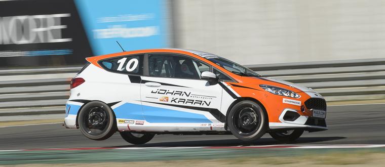 Spannende eerste race voor de Ford Fiesta Sprint Cup NL op Zolder